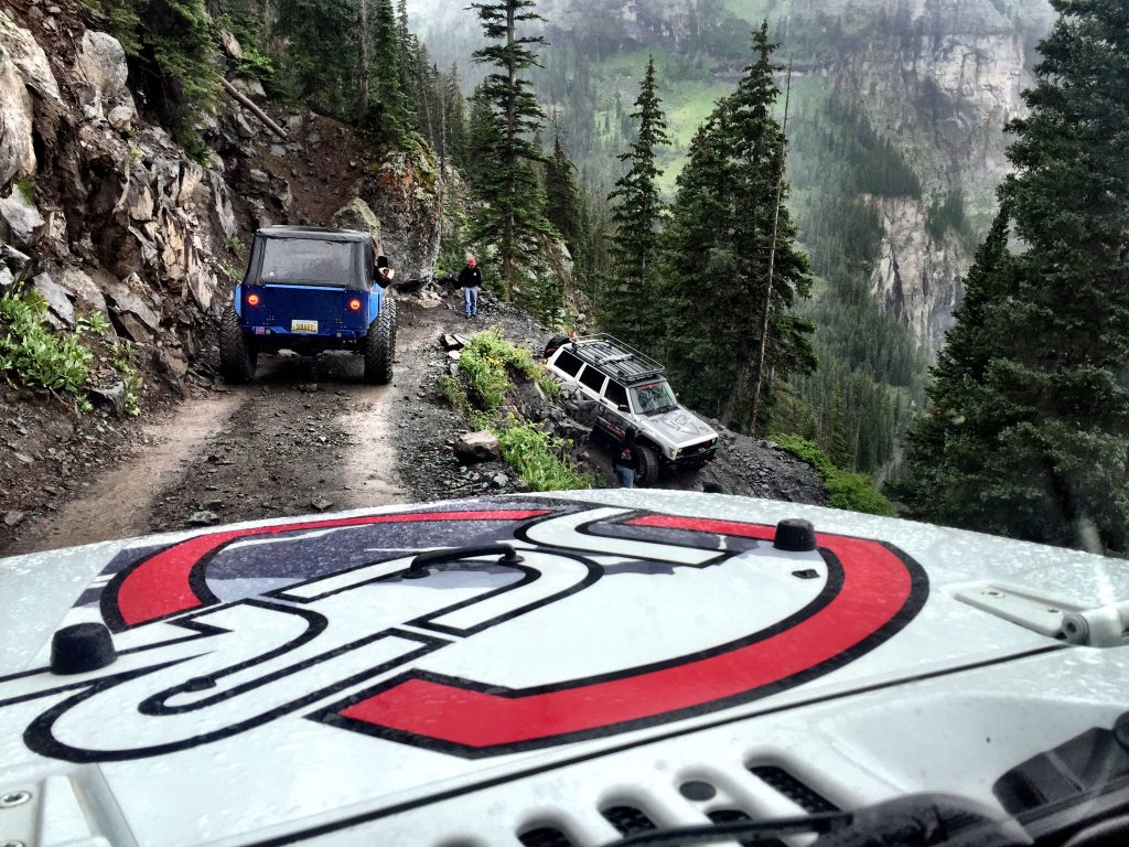 Black Bear Pass Switchback