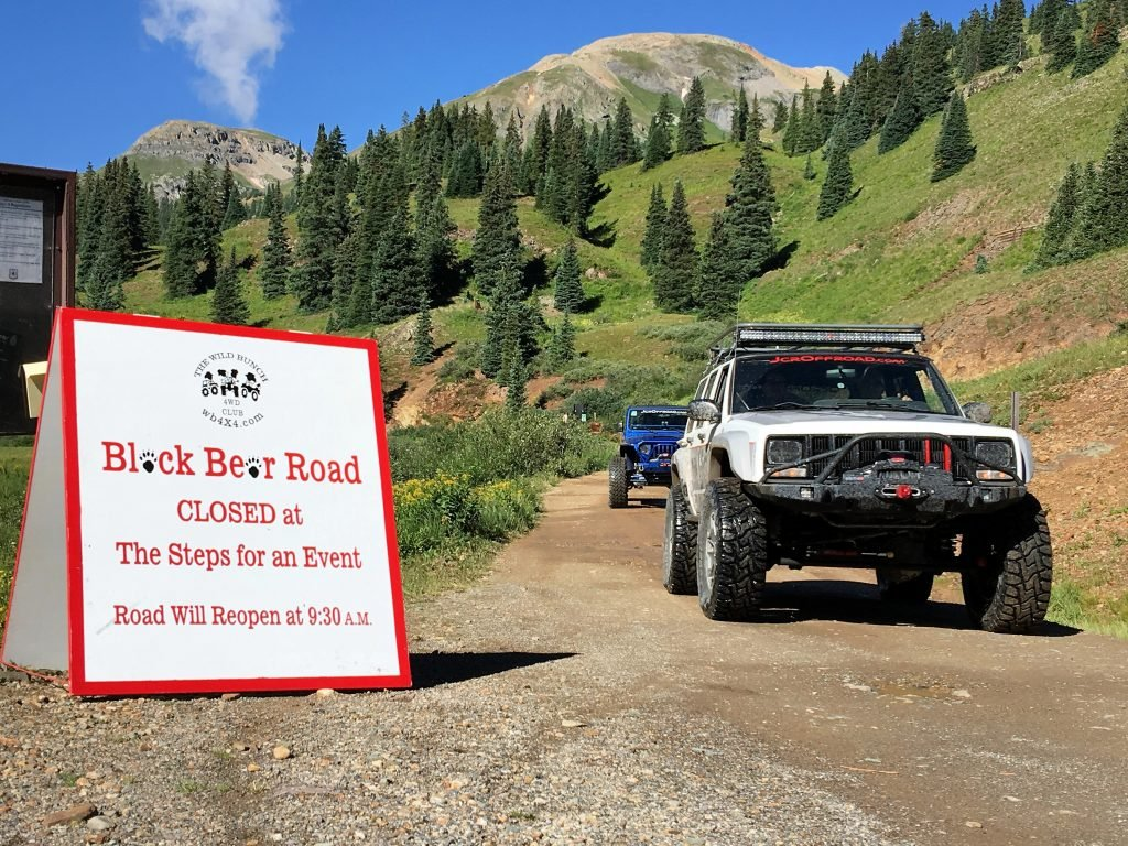Black Bear Pass Closed