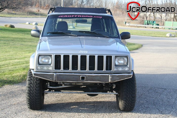 Diy xj bumper front jeep cherokee 84 01 jcroffroad pssst solutioingenieria Choice Image