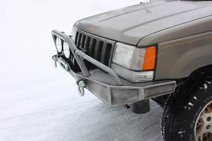 Jcroffroad Diy Zj Winch Bumper Jeep Grand Cherokee 92 98