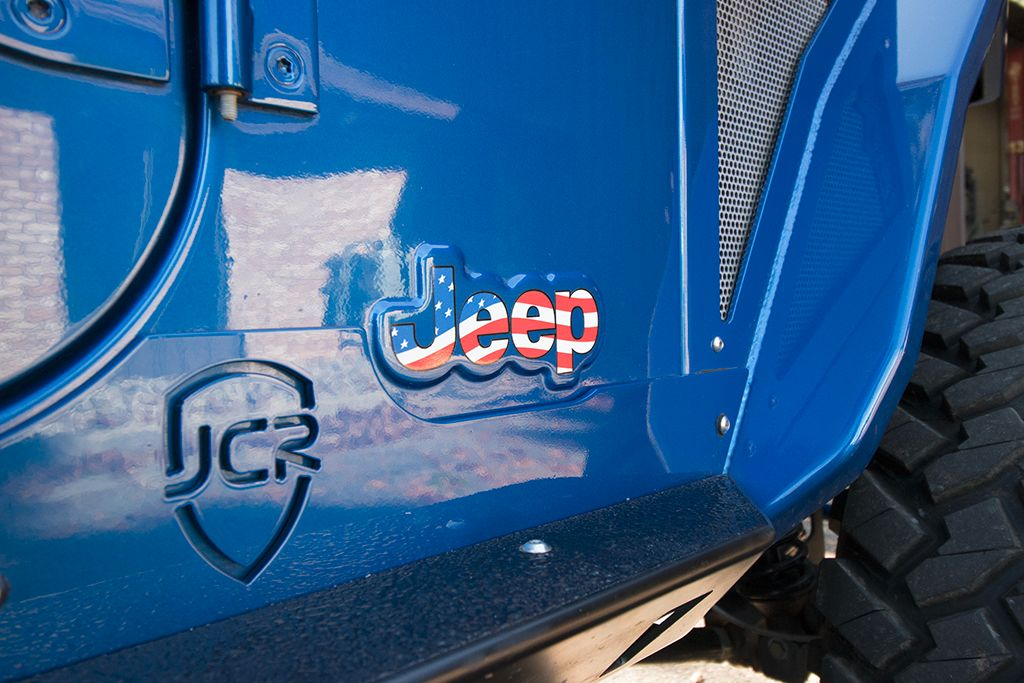 Jcroffroad  Jeep Flag Decals  Pair