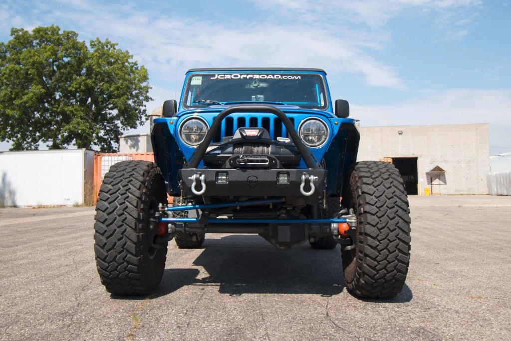 Jeep Tj Stubby Bumpers