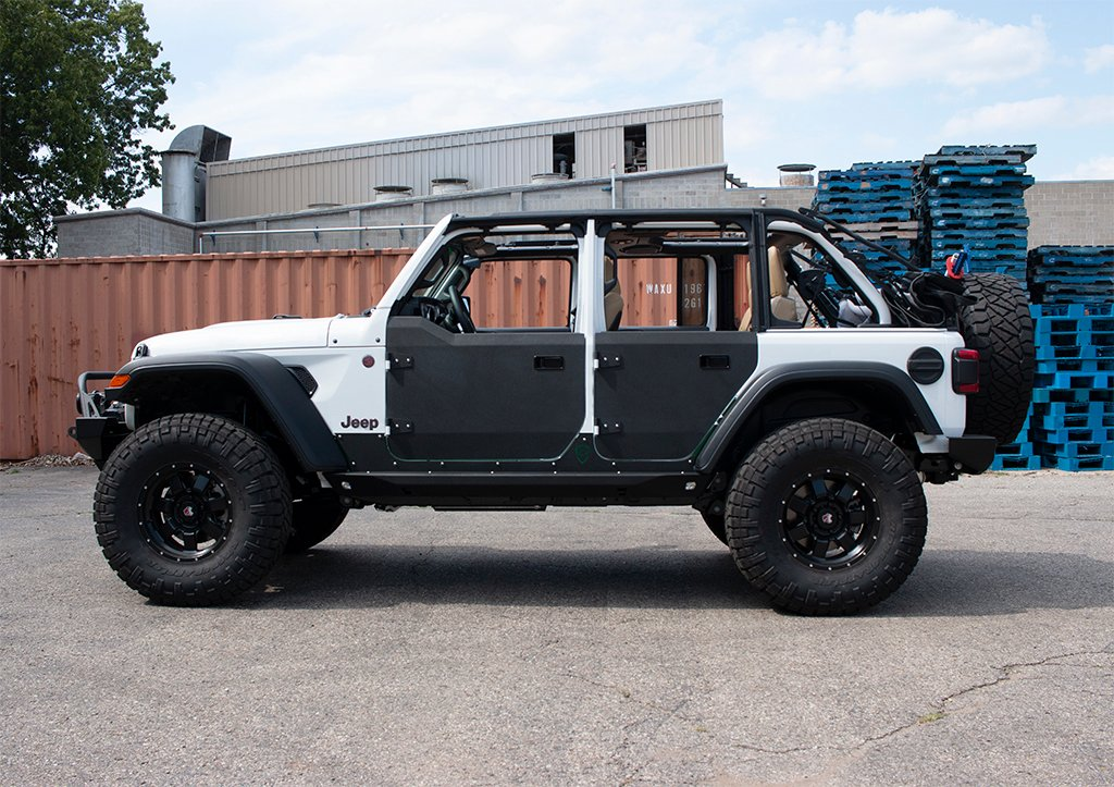 JL Half Doors | Front | Crusader Trail Doors | Jeep ...