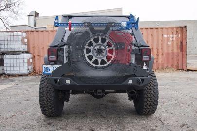 Wrangler Tire Carrier | Adventure | Jeep Wrangler JL U0026 JK (07 18)