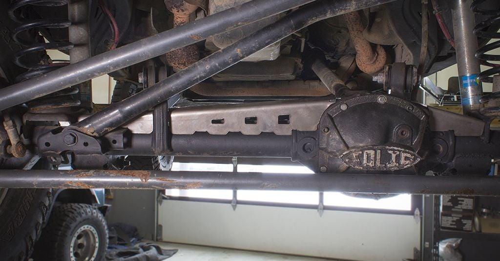 Jeep Cherokee Xj >> Dana 30 Axle Truss - JK Front (07-18) - JcrOffroad