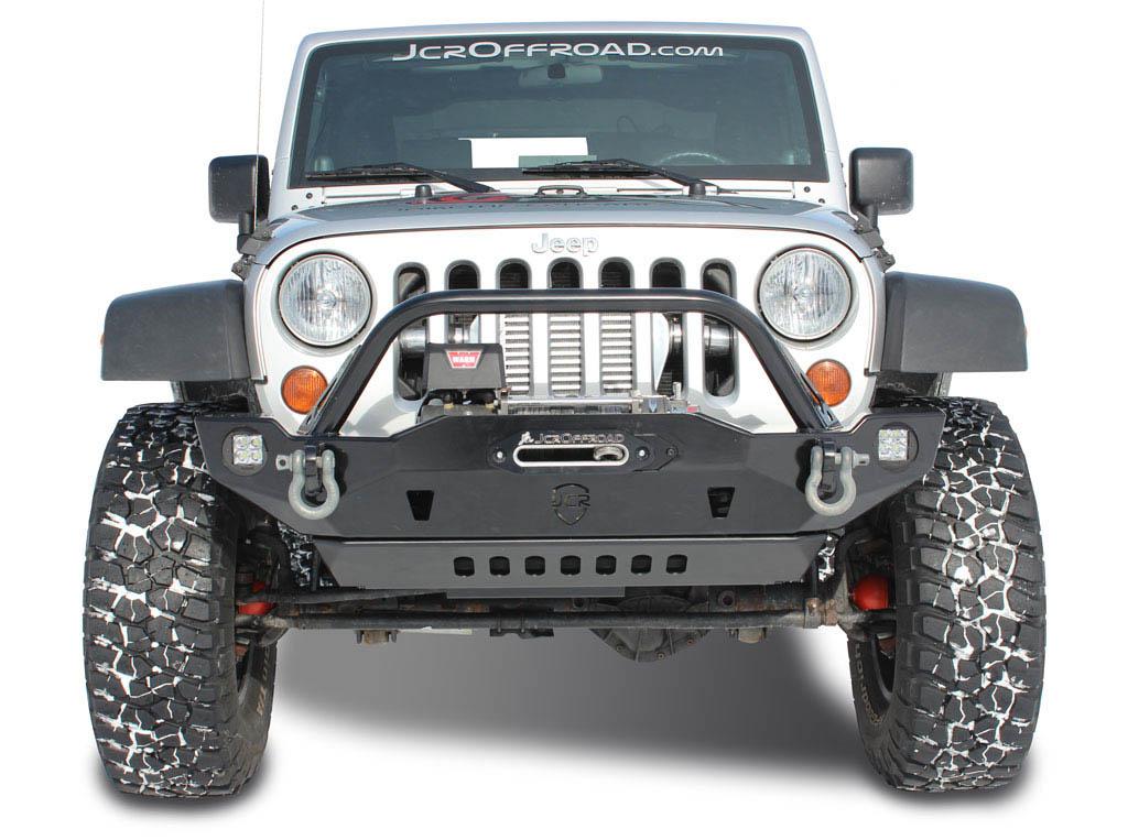 Jeep Wrangler Jk Front Bumper >> Jk Front Bumper Crusader Jeep Wrangler 07 18