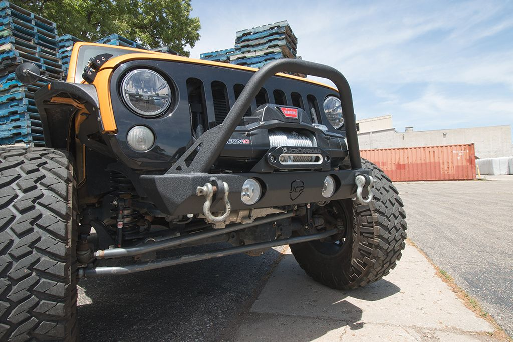 Jeep Wrangler Jk Front Bumper >> Jcroffroad Jk Front Bumper Dagger Frame Chop Jeep Wrangler 07 18