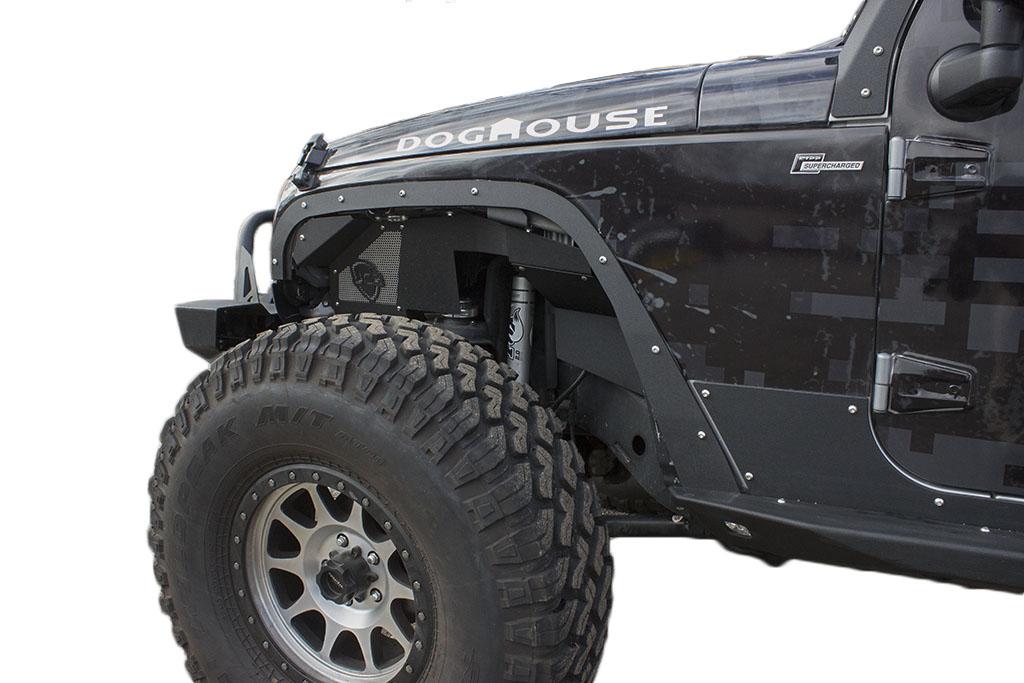 Jk Fender Delete Kit Front Premium Jeep Wrangler 07