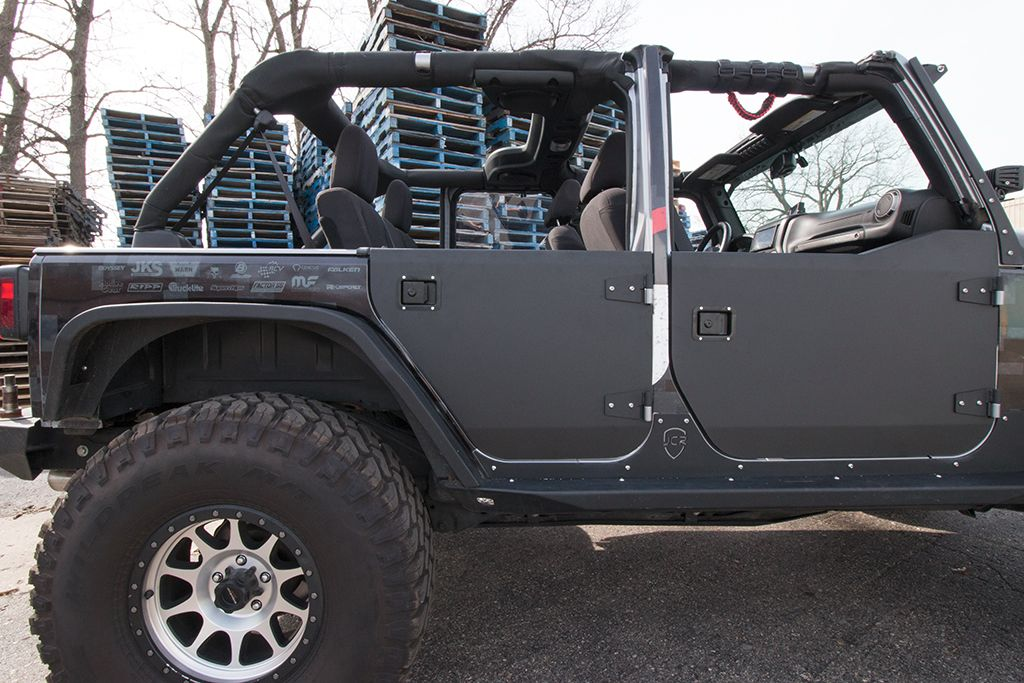 Aluminum 1 2 Doors Page 2 Jk Forum Com The Top
