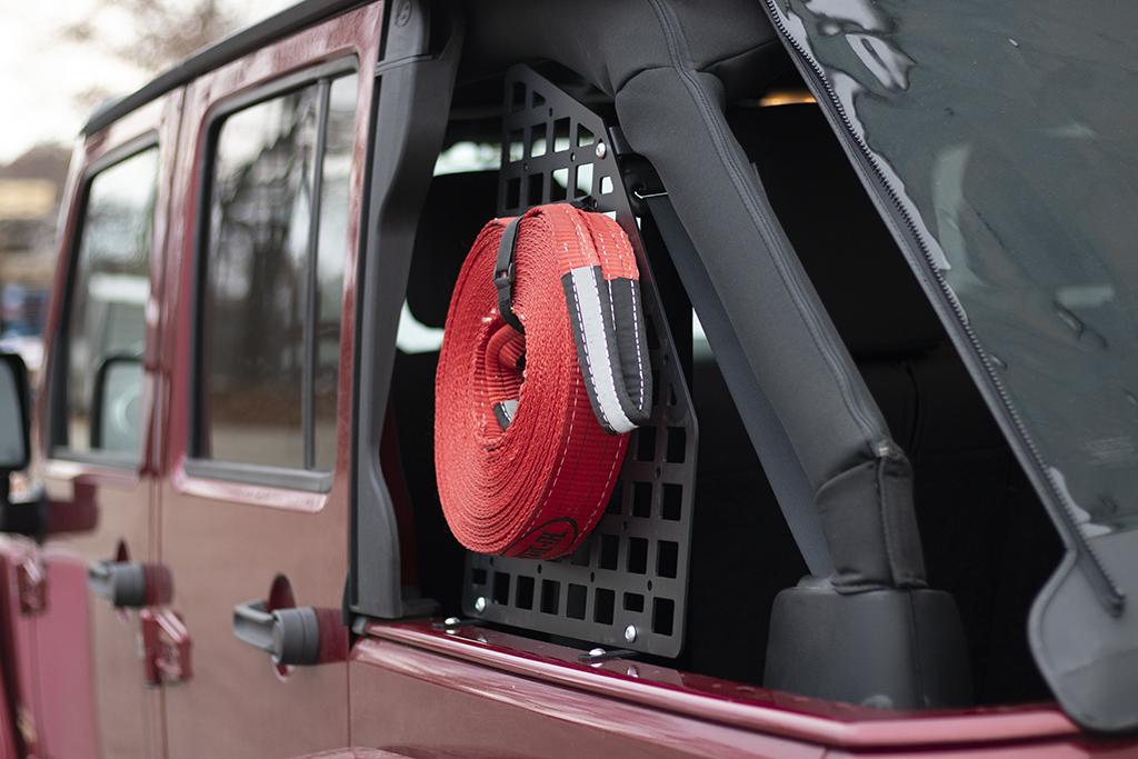 Jeep Wrangler Tj >> JcrOffroad: JK Rear Window MOLLE Panel   4 Door Jeep ...