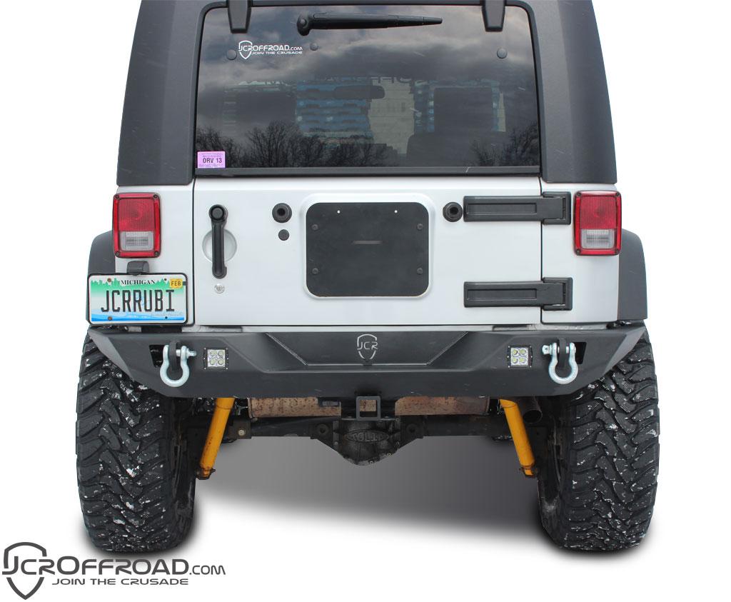 Jcroffroad Jk Rear Bumper Vanguard Full Width Jeep