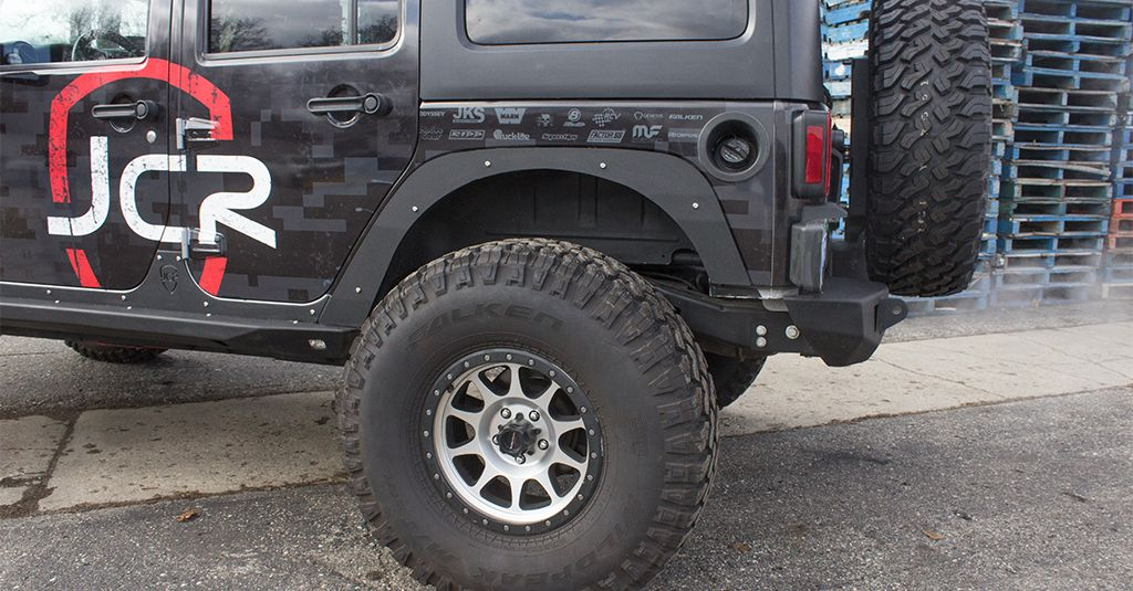 Jk Fender Deletes Premium Rear Jeep Wrangler 07 18