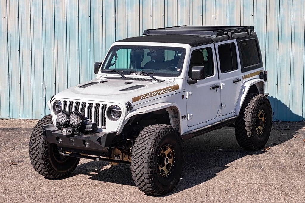 Jcroffroad Jl Roof Rack Jeep Wrangler 2018