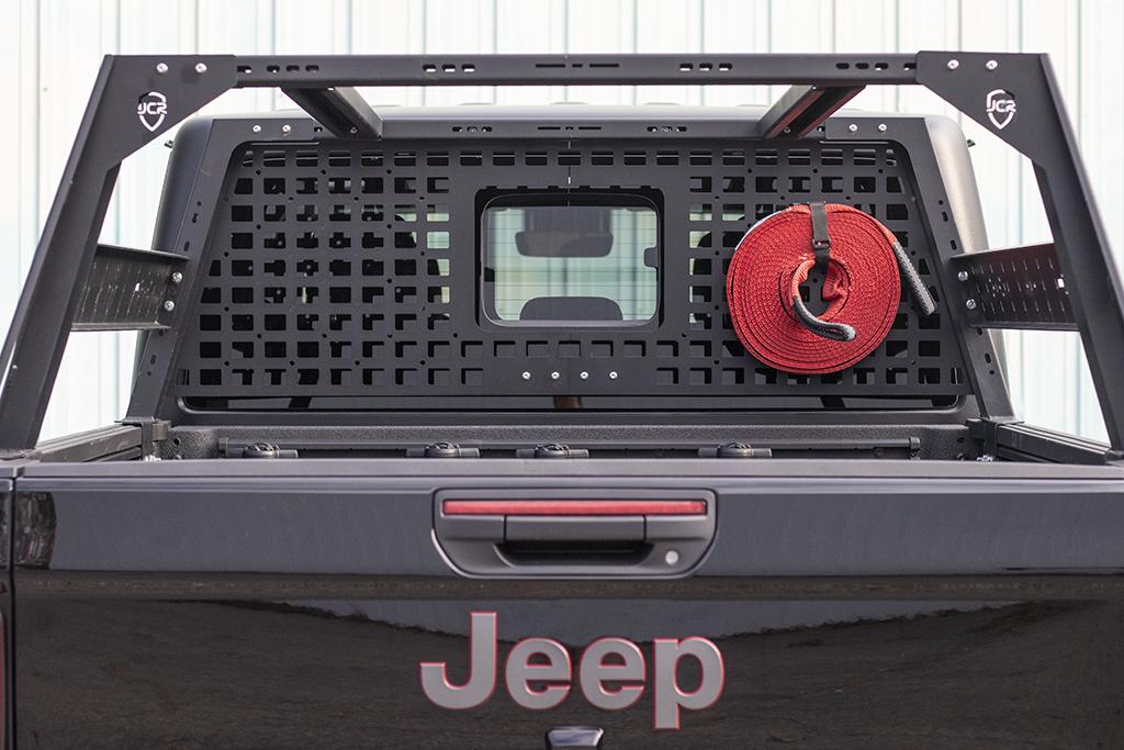 JcrOffroad: JT Bed Rack Headache Rack Molle Panel | Jeep ...