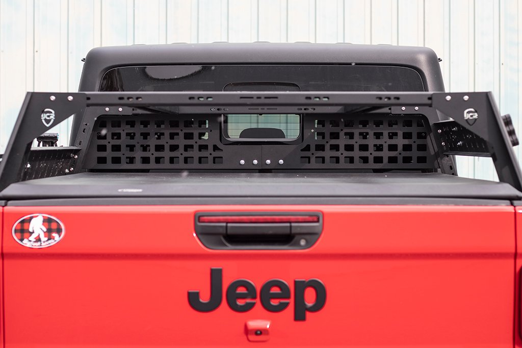 JcrOffroad: JT Bed Rack Headache Rack Molle Panel | Jeep ...
