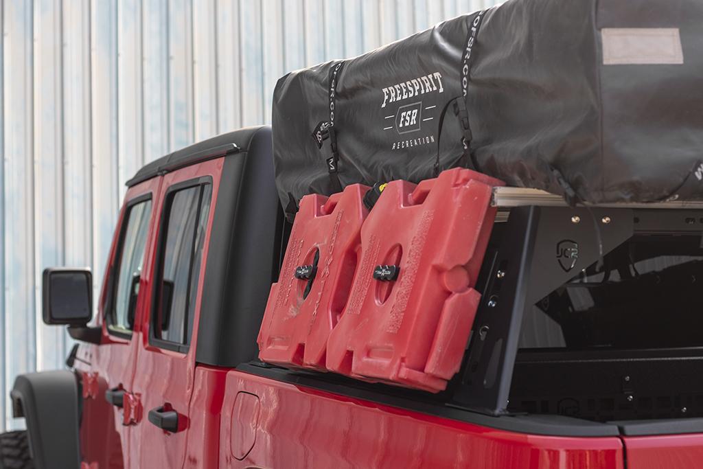 JcrOffroad: JT Bed Rack | Jeep Gladiator (2020+)