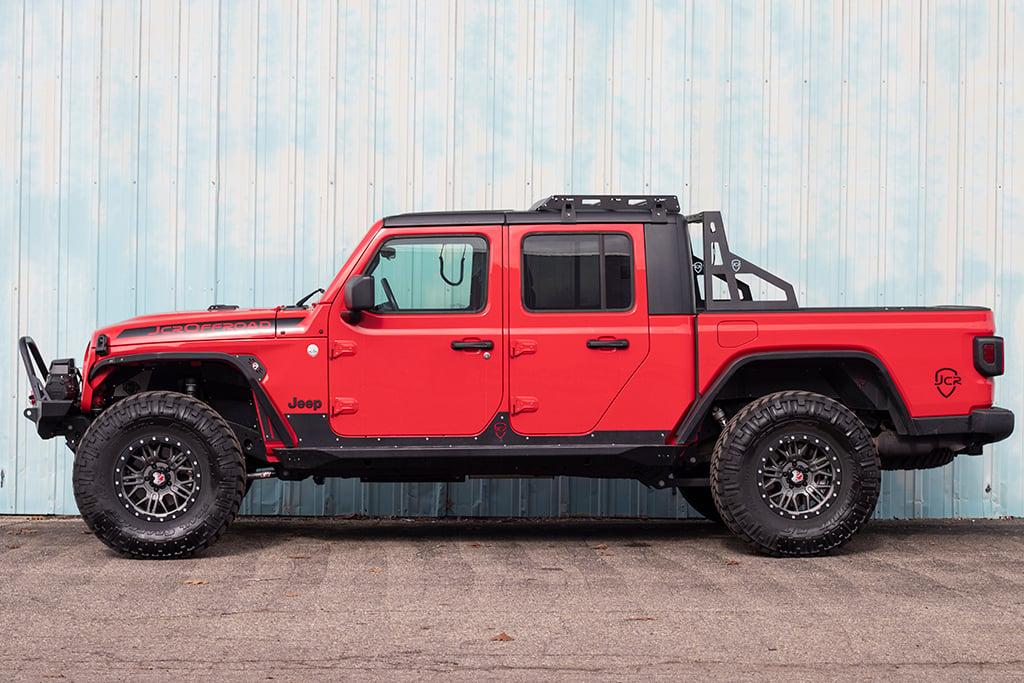 jcroffroad: jt roof rack   jeep gladiator (2020+)