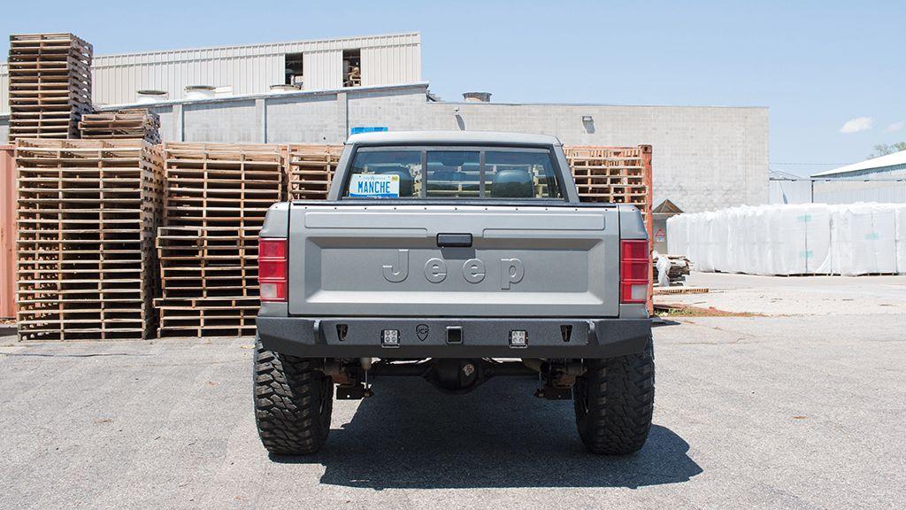 Jeep Mj Rear Crusader Bumper Jeep Comanche 86 92