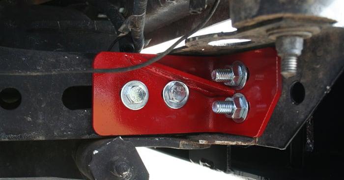 Jeep Rear Bumper Frame Tie In Kit Wrangler Tj Lj Yj