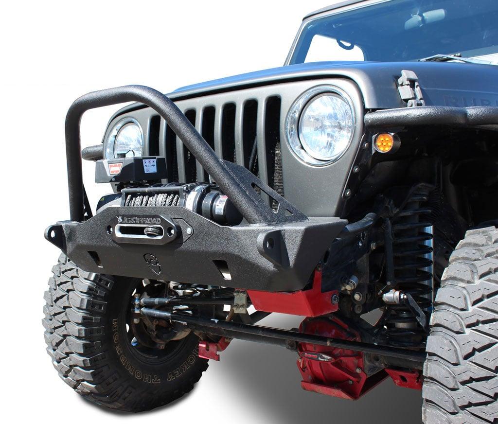 Wrangler Front Bumper Mauler Stubby Jeep Tj Lj Yj Cj7