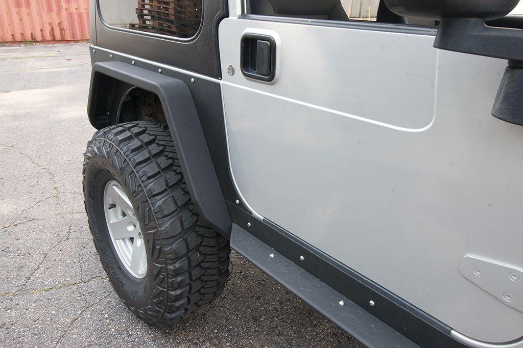 Jcroffroad Jeep Tube Fenders Rear Crusader Mid Width Wrangler Tj Lj Yj 87 06