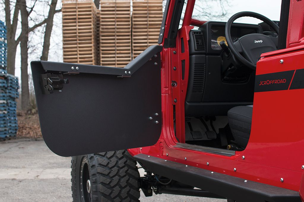 Wrangler Half Doors | Crusader Trail Doors | Jeep TJ LJ (97-06 Close & Wrangler Half Doors | Crusader Trail Doors | Jeep TJ LJ (97-06 ...