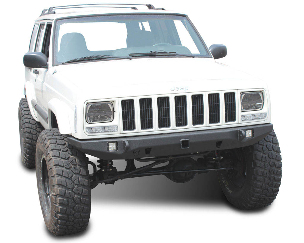 jeep cherokee front bumper crusader jeep xj 84 01 jcroffroad. Cars Review. Best American Auto & Cars Review