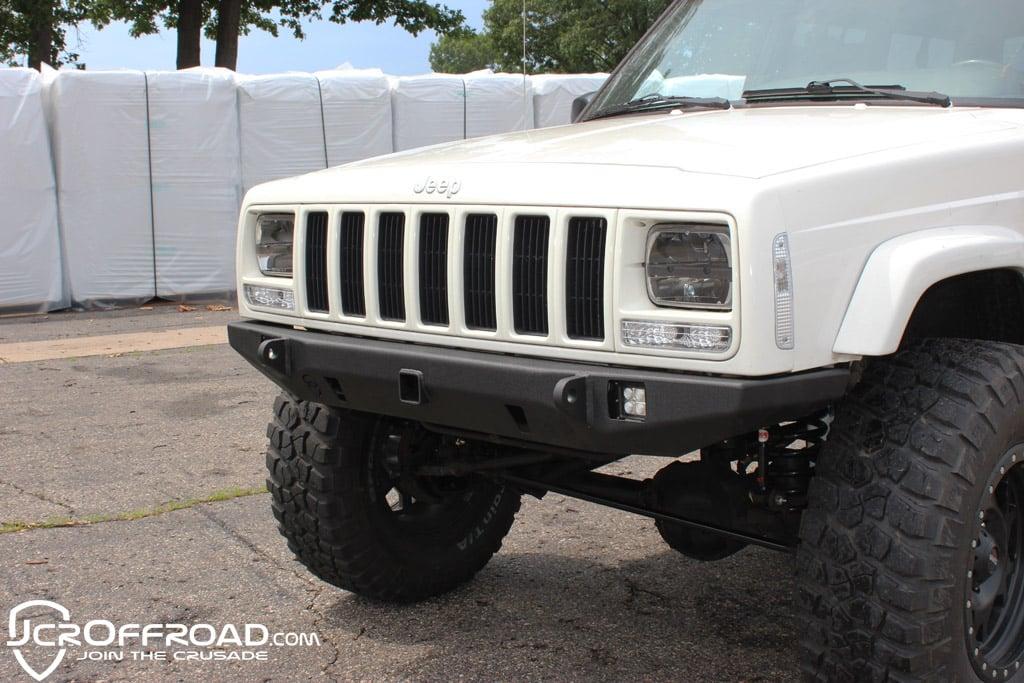 Jcroffroad Jeep Cherokee Front Bumper Crusader Jeep