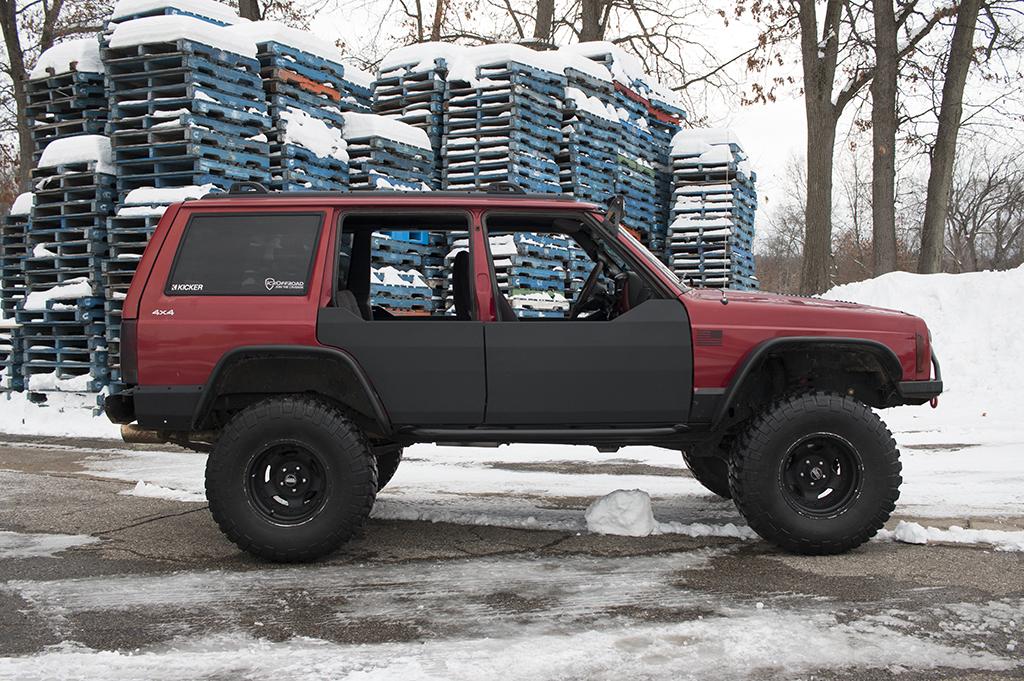 flares cherokee products xj mudstuck jeep fender