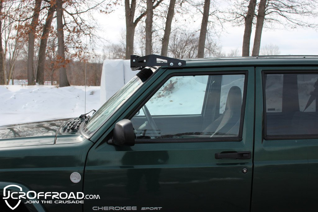 Jeep cherokee light bar low profile 50 led mount jeep xj 84 01 pssst mozeypictures Gallery