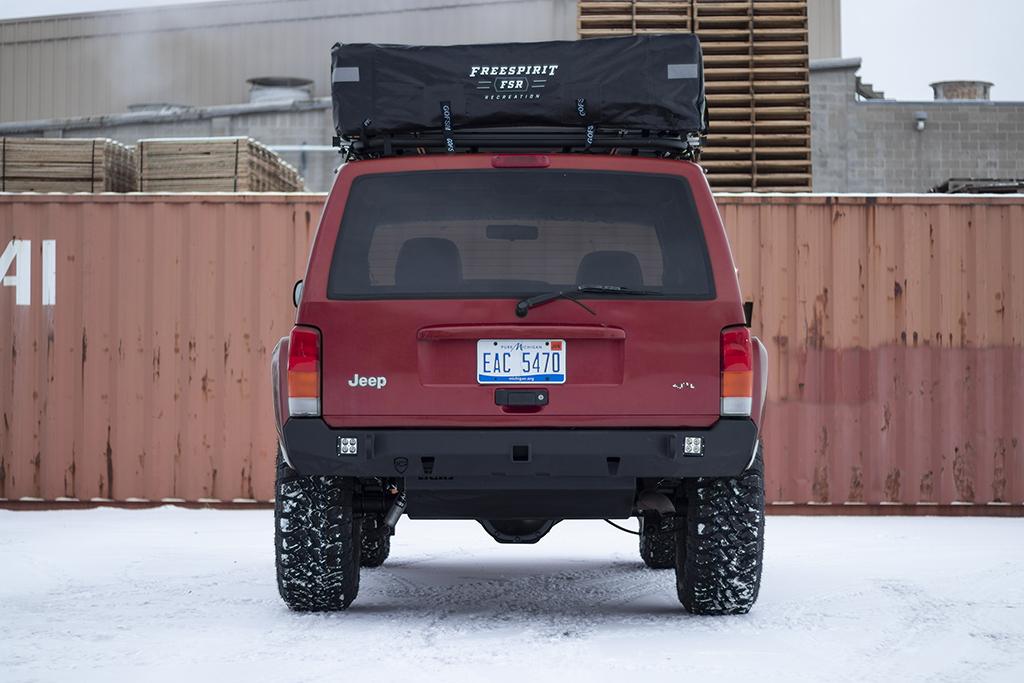 Jeep Cherokee Xj >> Jcroffroad Jeep Xj Rear Bumper Crusader Jeep Cherokee 84 01
