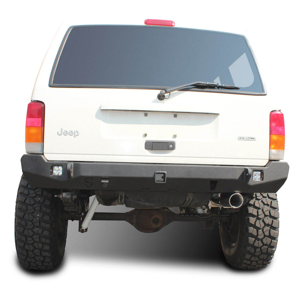 Jeep XJ Rear Bumper | Crusader | Jeep Cherokee (84-01)