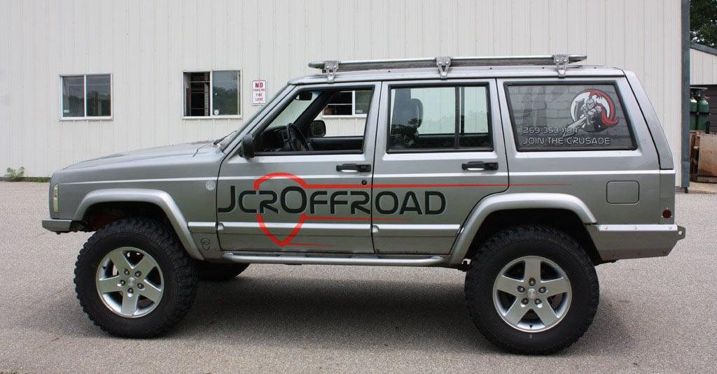 Jeep Wrangler Fenders >> JcrOffroad Base Utility Rack | Jeep Cherokee XJ (84-01) - JcrOffroad