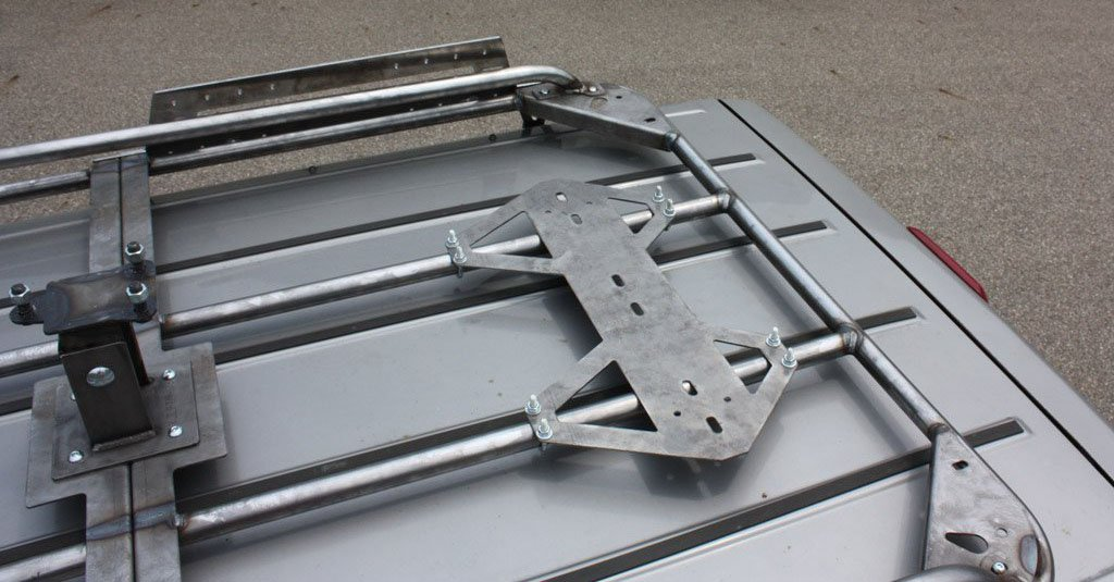 Jcroffroad Rotopax Base Mount For Modular Roof Rack Jeep
