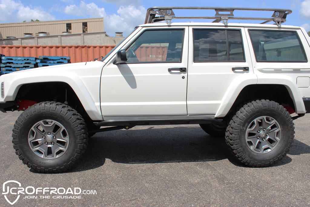 XJ Rock Sliders | Classic | Jeep Cherokee (84-01)