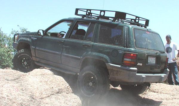ZJ Rock Sliders | Classic | Jeep Grand Cherokee (92-98)