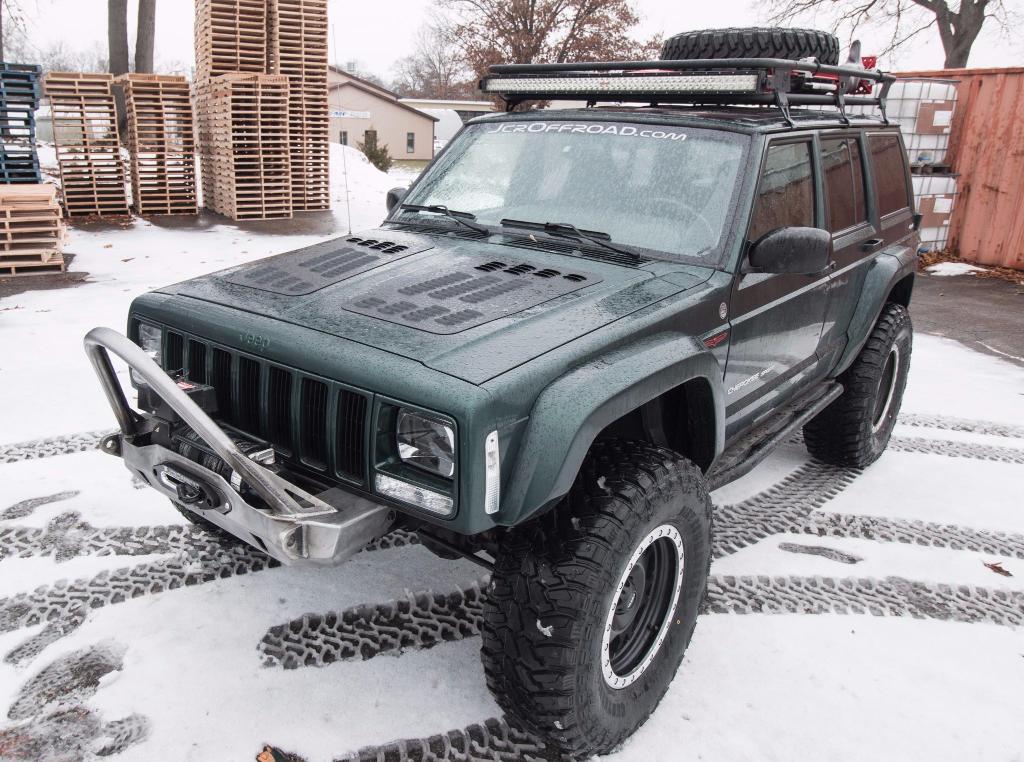 Jeep Xj Winch Bumper Mauler Cherokee 84 01 Jcroffroad