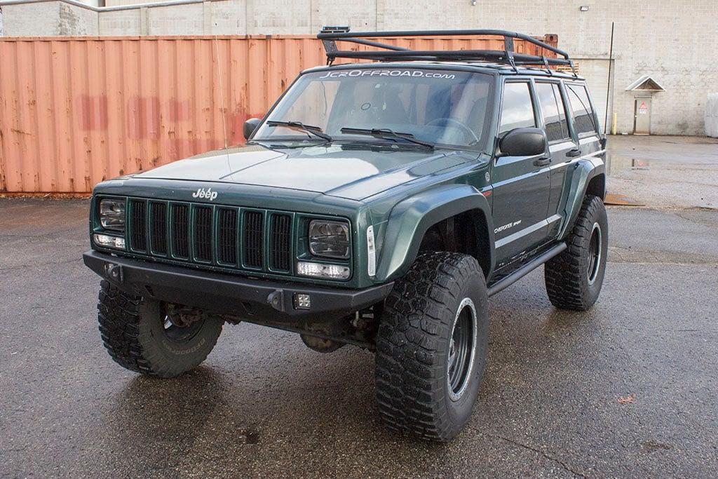 roof product jcroffroad xjrk xj jeep prerunner cherokee pssst p rack