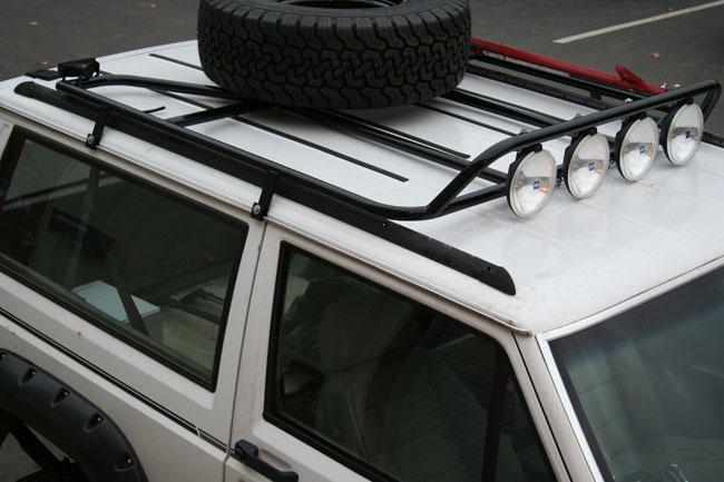 New Jcr Low Profile Roof Rack Jeepforum Com